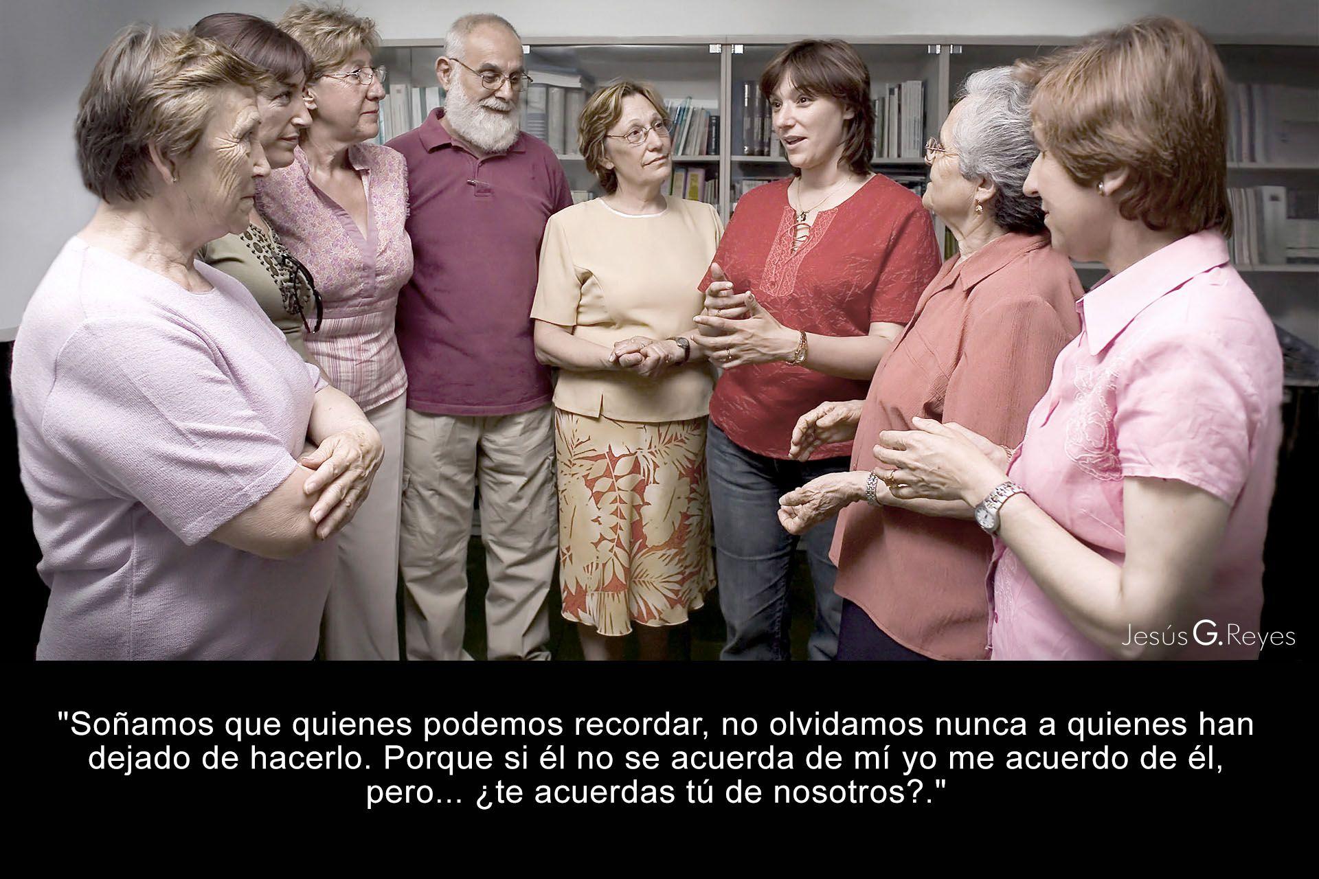Colectivo familiares afectados por alzheimer. San Fernando de Henares