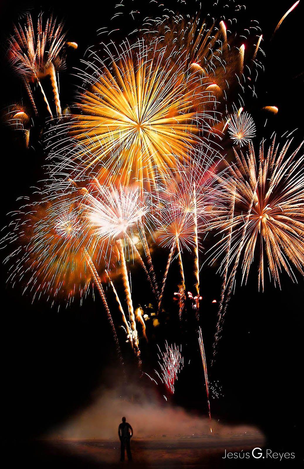 Fuegos artificiales Fiestas patronales