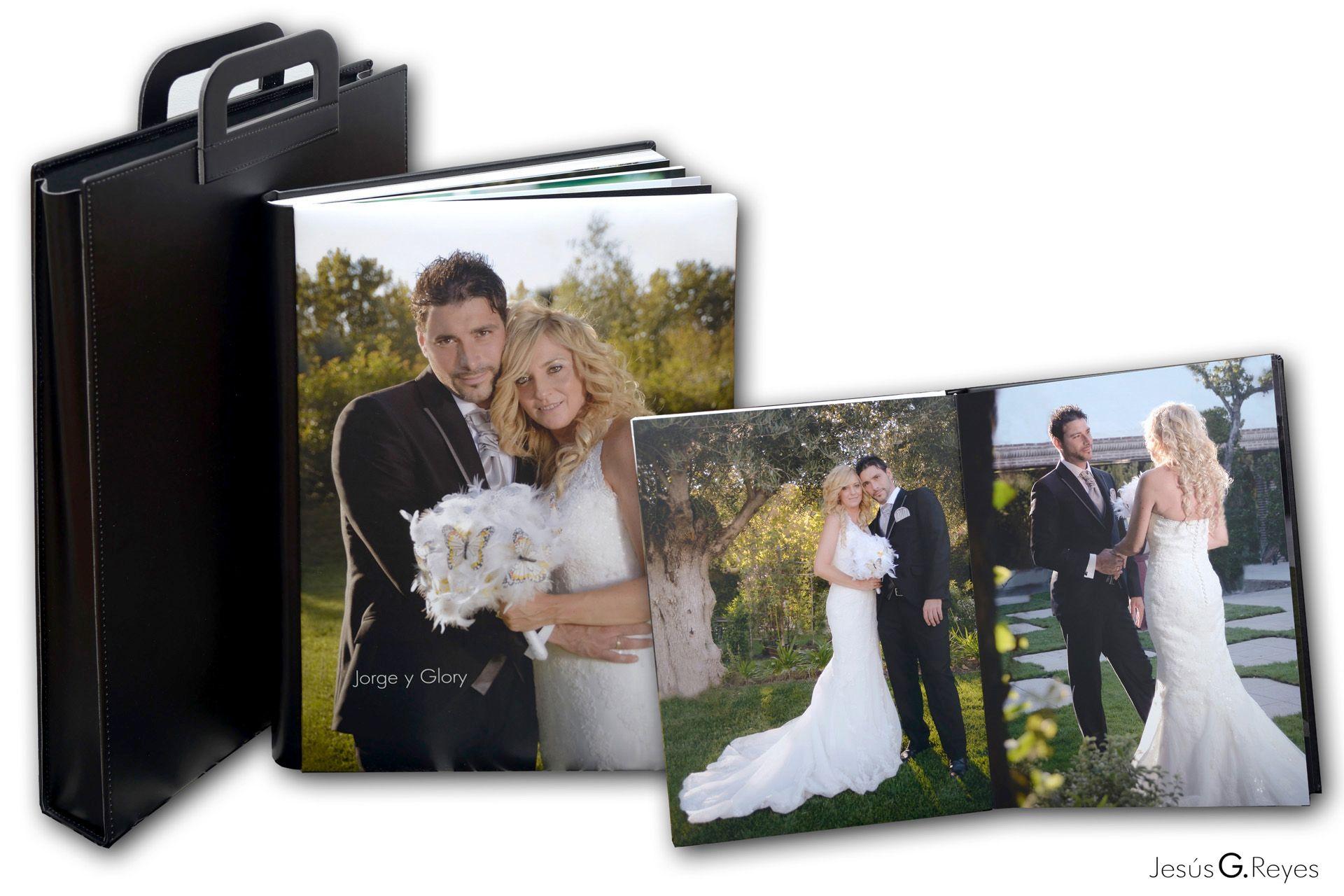 Maquetación e impresión álbum boda.