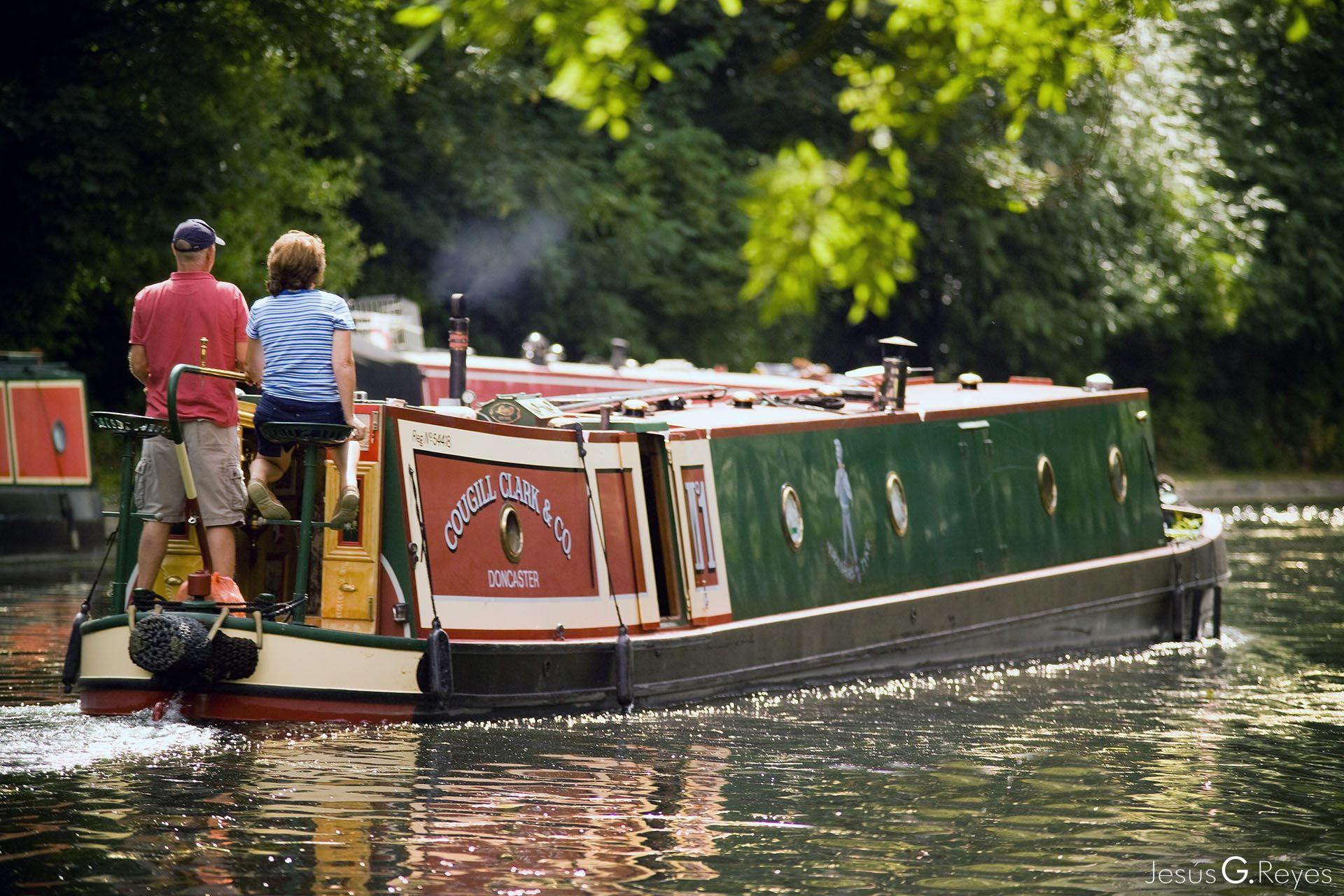 Grand Union Canal. London