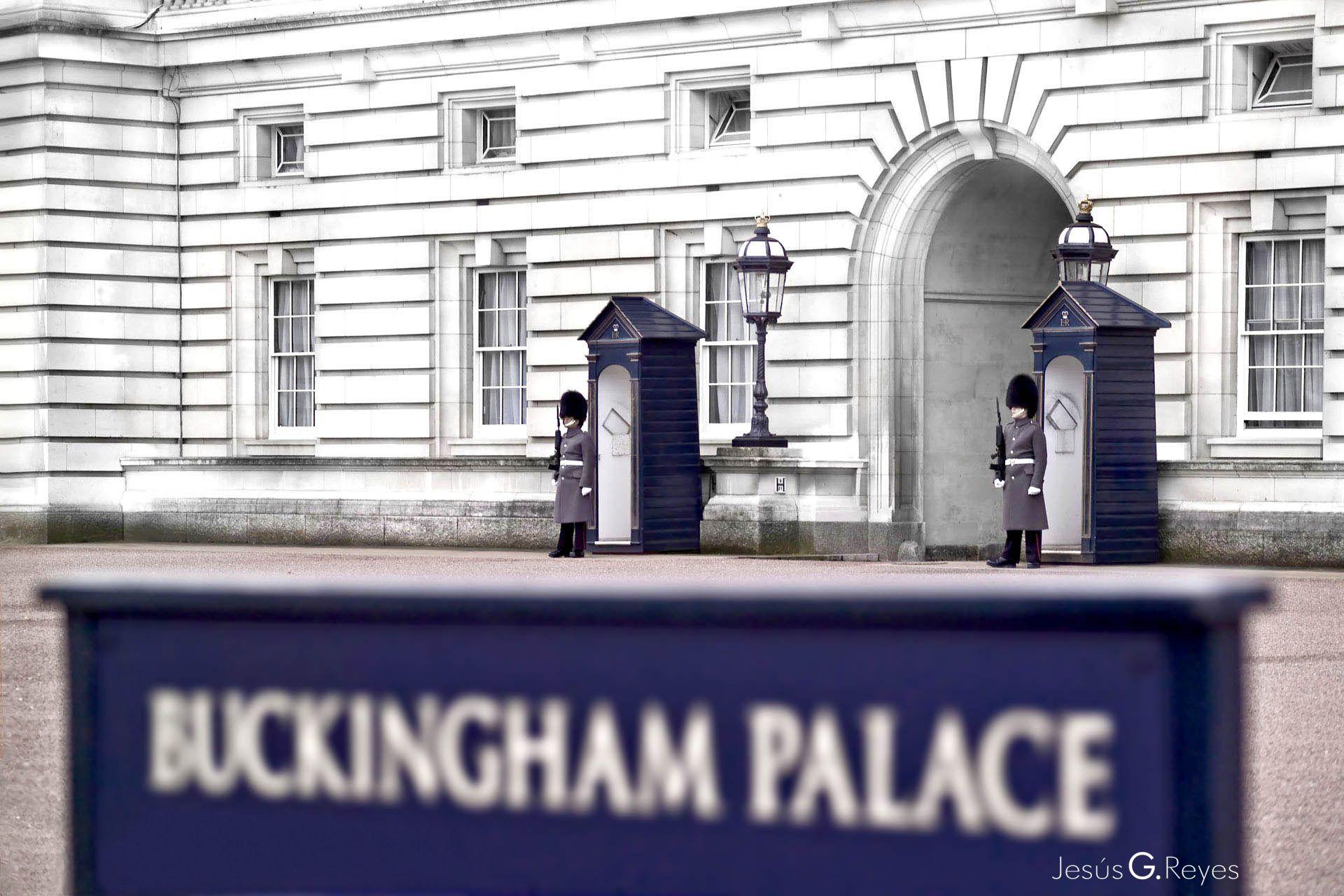 Buckingham palace. Londres